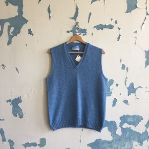 Vintage | Puritan Light Blue Knit Sweater Vest
